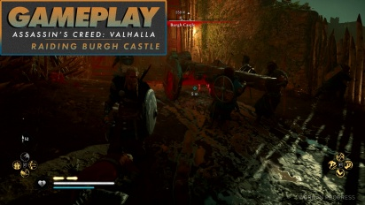 Assassin's Creed Valhalla - Wir brandschatzen Burgh Castle (Gameplay)