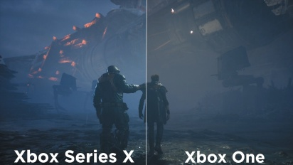Star Wars Jedi: Fallen Order - Xbox One vs. Xbox Series X (Gameplay)