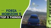 Forza Horizon 5 - Fünf spannende Erkenntnisse aus unserer Vorschau