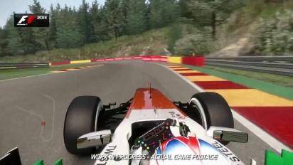 F1 2013 - Spa Francorchamps Hotlap