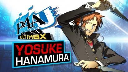 Persona 4: Arena Ultimax  - Yosuke Hanamura Trailer