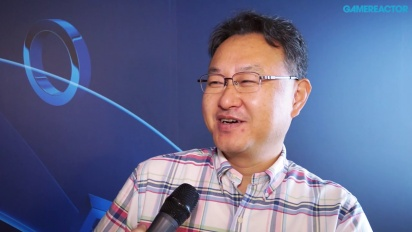 Shuhei Yoshida - E3 15 Interview (PS4, PS Vita)
