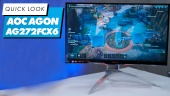 AOC Agon AG272FCX6: Quick Look