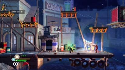 Bionic Commando: Rearmed 2 - TGS 10: Rainy Seaport Gameplay