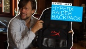 HyperX Raider Rucksack: Quick Look