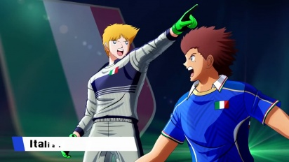 Captain Tsubasa: Rise of New Champions - Italy Junior Youth Trailer
