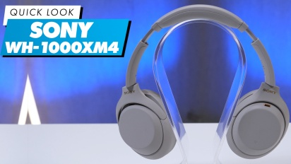 Sony WH-1000XM4: Quick Look