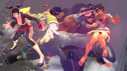 Super Street Fighter IV - Alternate Costumes Trailer