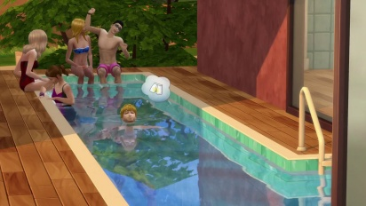 The Sims 4: Pools Trailer