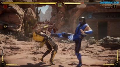 Mortal Kombat 11 - Sub-Zero, Scorpion & Sonya Gameplay