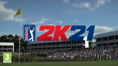 PGA TOUR 2K21 - Teaser