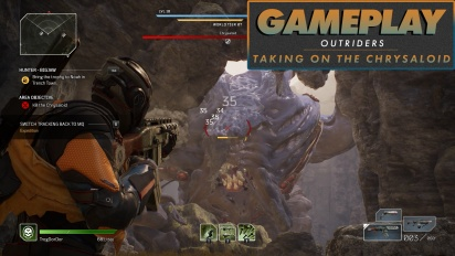 Outriders - Gameplay: Kampf gegen den Chrysaloid-Boss