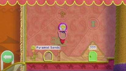 Kirby's Epic Yarn -  Gameplay 1