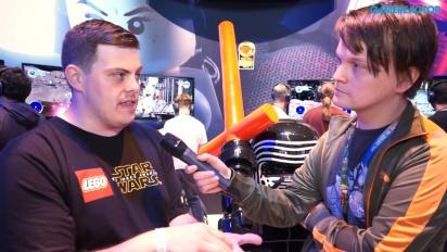Lego Star Wars: Das Erwachen der Macht - Interview Jamie Eden