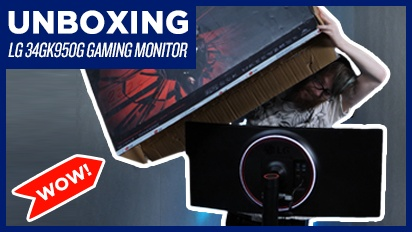 LG34GK950G Gaming Monitor - Unboxing