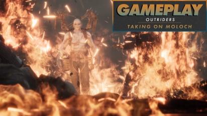 Outriders - Gameplay: Kampf gegen einen Moloch