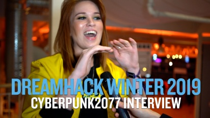 Cyberpunk 2077 - Interview mit Hollie Bennett auf Dreamhack 19
