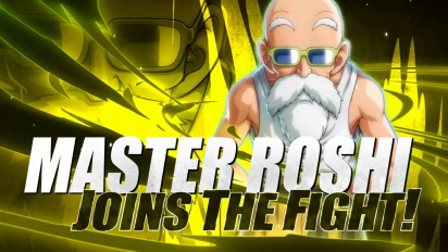 Dragon Ball FighterZ - Master Roshi Launch Trailer
