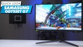 Samsung Odyssey G7: Quick Look