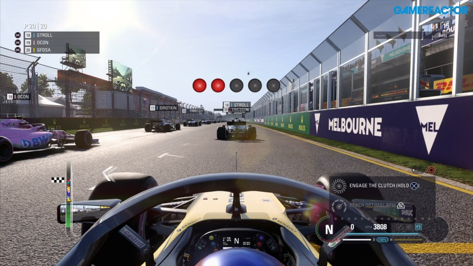 F1 2018 Melbourne Grand Prix Gameplay On Ps4 Pro