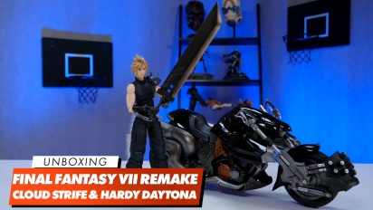 Unboxing von Play Arts Kai - Cloud Strife & Hardy Daytona
