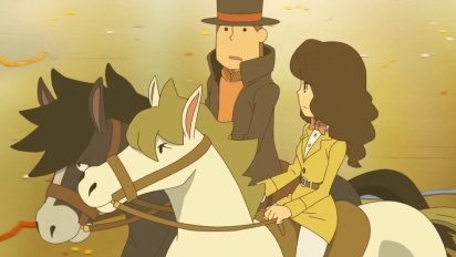 Professor Layton and the Miracle Mask - Trailer