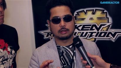 E3 13: Tekken Revolution - Interview Katsuhiro Harada