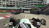 F1 2015 - Real Gameplay Xbox One - Monaco Lewis Hamilton - Mercedes F1 W06 Hybrid