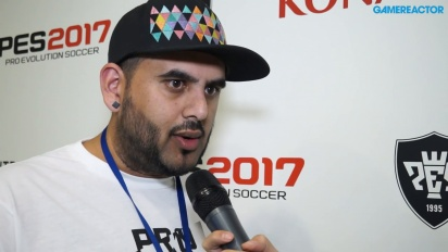 Pro Evolution Soccer 2017 - Interview Adam Bhatti