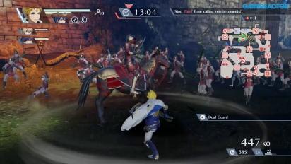 Fire Emblem Warriors - Gameplay mit Rowan und Marth