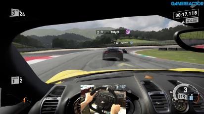 Forza Motorsport 7 - Gameplay mit dem Racing-Lenkrad - Porsche Cayman auf Mugello