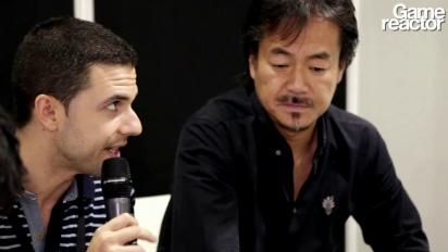 Party Wave und Last Story - Interview Hironobu Sakaguchi