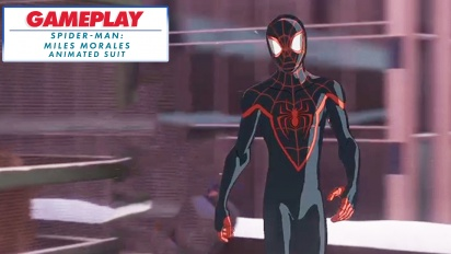 Spider-Man: Miles Morales - Into-The-Spider-Verse-Anzug (Gameplay-Montage)