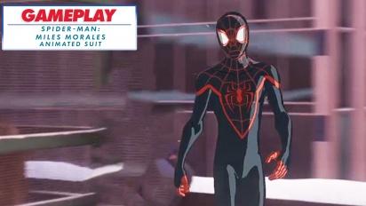 Spider-Man: Miles Morales - Into-The-Spider-Verse-Anzug (Gameplay-Montage)