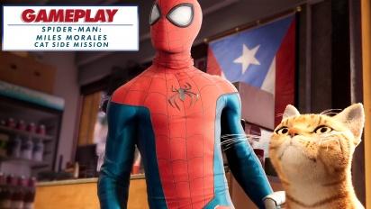 Spider-Man: Miles Morales - Spider-Cat Nebenmission (Gameplay-Montage)