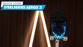 Steelseries Aerox 3 Wireless: Quick Look