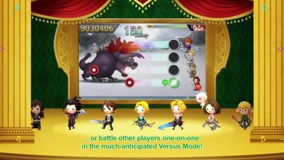 Theatrhythm Final Fantasy: Curtain Call - European Announcement Trailer