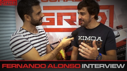 Grid - Interview mit Fernando Alonso