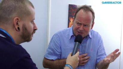 GC 13: Baphomets Fluch: Der Sündenfall - Interview Charles Cecil