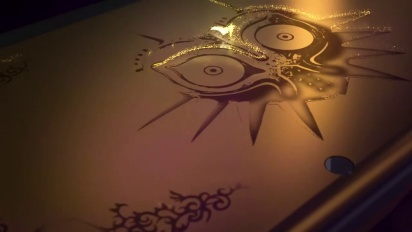 New Nintendo 3DS Zelda: Majora's Mask Edition Trailer