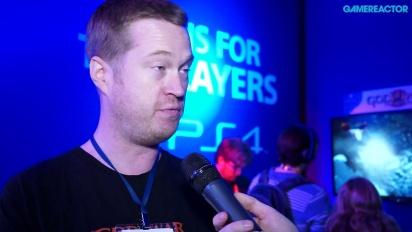 God of War III Remastered - Interview Elliot Martin