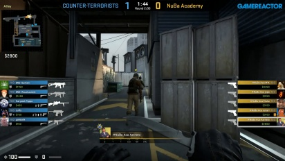 CS:GO S2 - Div 6 Round 1 - NuBa Academy vs Do Not Sleep - Train
