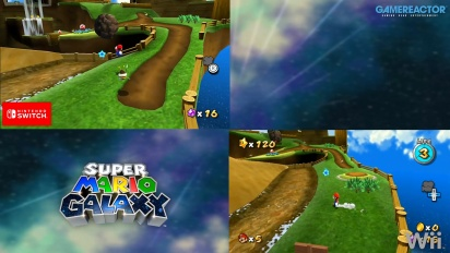 Super Mario Galaxy: Grafikvergleich Wii/Switch