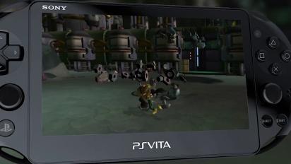 Ratchet & Clank Trilogy - PS Vita Launch Trailer