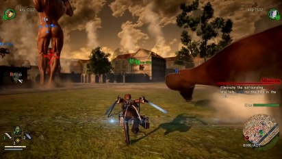Attack on Titan 2 - Multiplayer Highlights