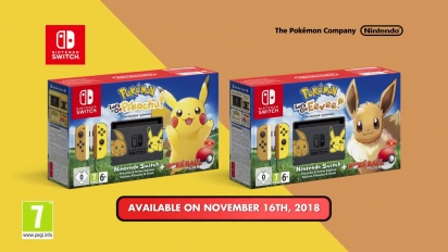 Nintendo Switch - Pokémon Let's Go Pikachu- und Evoli-Edition