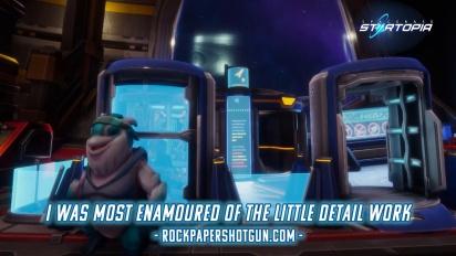 Spacebase Startopia - Release Date Reveal Trailer