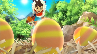 Monster Hunter Stories - Japanese Announcement Trailer