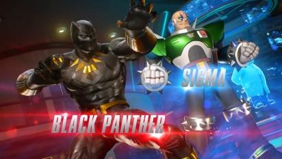 Marvel vs. Capcom: Infinite - Black Panther and Sigma Gameplay Trailer