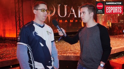 DreamHack Winter - Quake Champions: Interview mit Toxjq